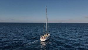 barco para la expedición científica con la SECAC